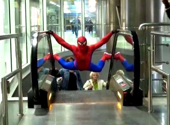 Najnowszy Spiderman! (wideo)