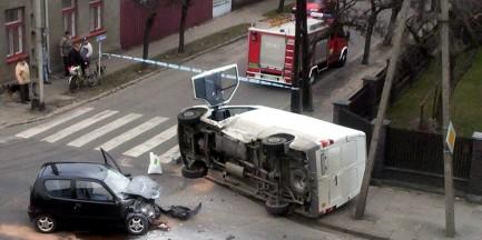 Mniej wypadków w Warszawie!