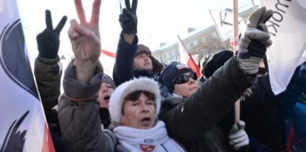 """W Warszawie demonstracja KOD pod hasłem: """"W obronie twojej wolności"""""""