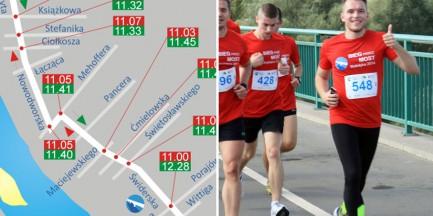 Zamkną kilkanaście ulic na Białołęce. W niedzielę duża impreza sportowa