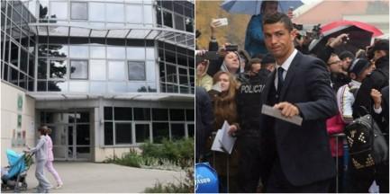 Piękny gest Ronaldo! Piłkarz Realu Madryt spotkał się z byłym pacjentem kliniki Budzik