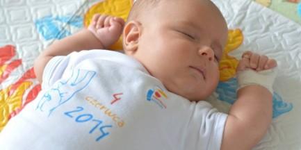 Prezent od miasta dla dzieci urodzonych 4 czerwca 2014 r.
