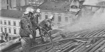 Warszawscy strażacy w akcji [ZDJĘCIA]