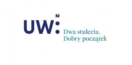 Logo i hasło UW na 200-lecie wybrane!