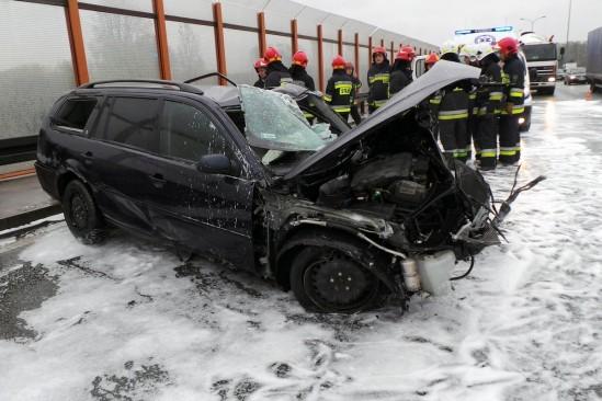 Miejsce wypadku. Fot. Dariusz Borowicz/Agencja Gazeta