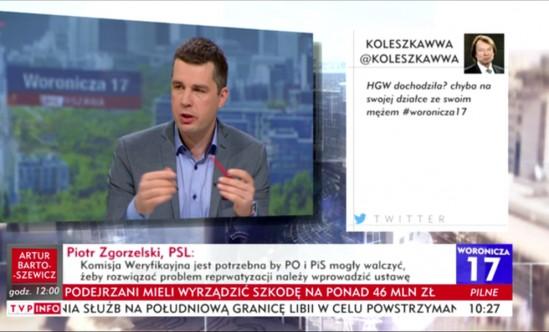 Screen z TVP.INFO