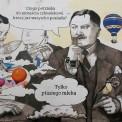 Na Pradze pojawił się mural. Zdaniem konserwatora zabytków - nielegalnie