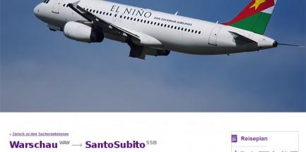 Nowa oferta El Niño. Z Warszawy do Santo Subito - stolicy San Escobar