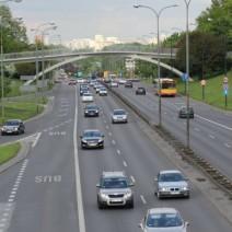 Awaria wodociągu przy Trasie Łazienkowskiej!