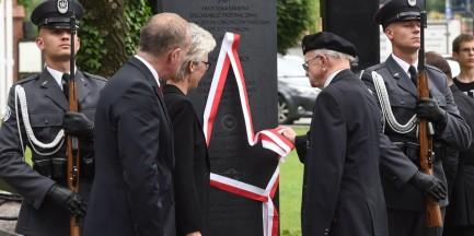 W parku Wolności odsłonięto pomnik lotników alianckich
