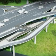 Będzie kładka pod mostem Łazienkowskim. Za 16 mln złotych.