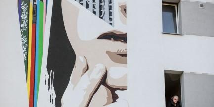 David Bowie na Żoliborzu. Odsłonili mural