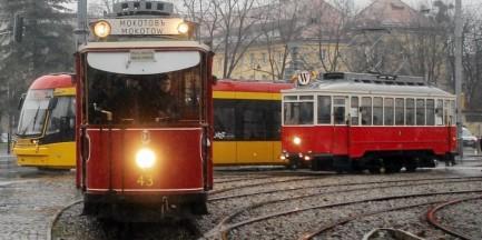 Zabytkowe tramwaje w lany poniedziałek wyjadą na ulice Warszawy