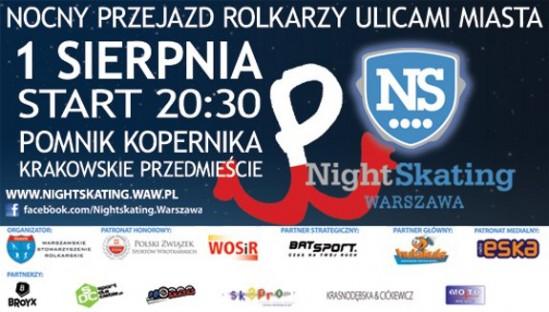 Nightskating śladami Powstania Warszawskiego