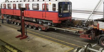 Wagony metra do naprawy. Przejechały ponad 2.2 mln km