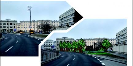 Pomnik smoleński stanie na tyłach Krakowskiego Przedmieścia (WIZUALIZACJA)