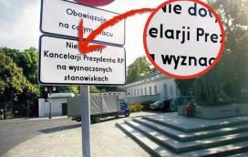 Z cyklu: warszawski humor