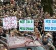 """Protest przed gmachem Sejmu w sprawie zakazu aborcji. """"Nie dla torturowania"""""""