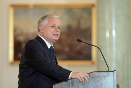 Prezydent Lech Kaczyński. Fot. PAP