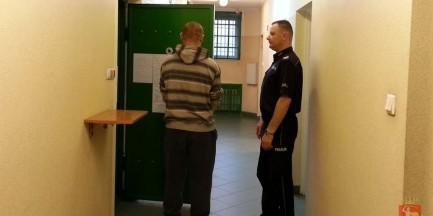 Uciekinier z zakładu karnego złapany