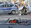 Śmiertelny wypadek na Gocławiu. Nie żyje 41-latka, ucierpiały dwie osoby, w tym dziecko