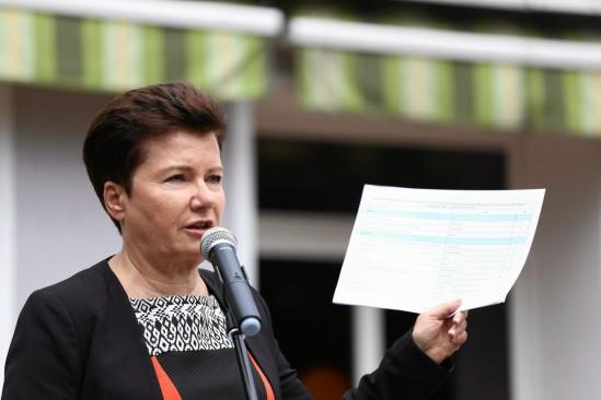 Hanna Gronkiewicz-Waltz. Fot. Adam Stępień/Agencja Gazeta