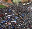 """PO organizuje w Warszawie """"błękitny marsz"""". Liczy na udział 100 tys. osób"""