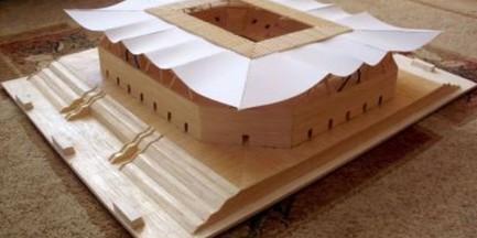 Stadion Legii z zapałek