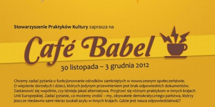 Za darmo: Cafe Babel