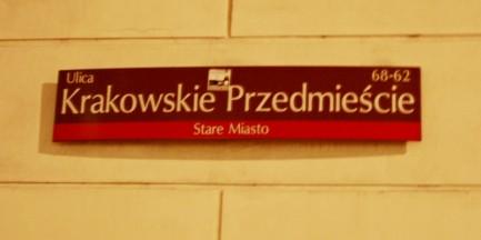 ZOM ozłocił Krakowskie Przedmieście