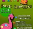 Za darmo: Park Jurajski w Parku Szczęśliwickim