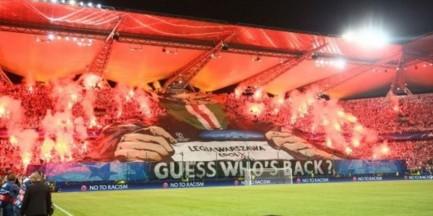"""Opluli Kurskiego na stadionie Legii. """"Machał flagą Lechii Gdańsk"""""""
