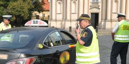 Brak licencji, a nawet prawa jazdy. Nieprawidłowości w 60 proc. taksówek