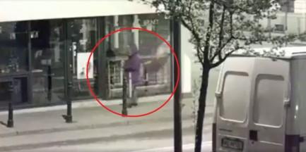 """Policja złapała mężczyznę, który dewastował kawiarnię Irańczyka. """"Wandal"""" ma 85 lat"""
