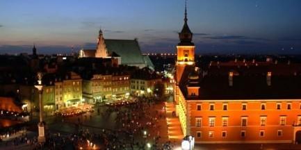 Historyczna Warszawa wieczorową porą (SPACER)