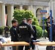 Policjanci na pl. Zbawiciela, Bieg Niepodległości na ulicach. Są pierwsze zatrzymania