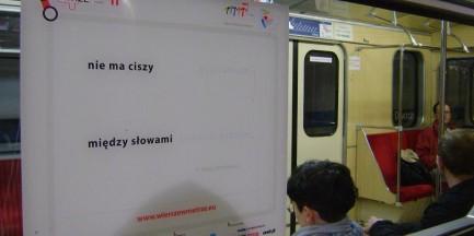 Stolica pełna poezji. 27 tys. wierszy pojawi się w przestrzeni miejskiej!