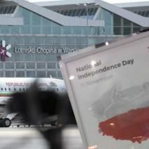 Polska według Lotniska Chopina. Tak port lotniczy wita podróżnych