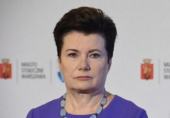 Hanna Gronkiewicz-Waltz. Fot. PAP/Radek Pietruszka