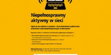 Władze Warszawy rozdadzą 2000 laptopów osobom niepełnosprawnym!