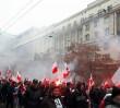 Marsz Niepodległości. Narodowcy spalili flagi z logiem Facebooka
