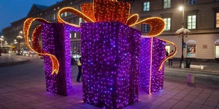 Świąteczna iluminacja już za tydzień. Dziś ostatnie testy [GALERIA]