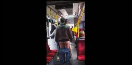 Wstrząsające nagranie z warszawskiego autobusu (WIDEO)