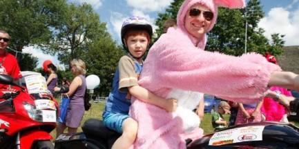 Niezwykły gest motocyklistów. Tak wspierają dzieci z Centrum Zdrowia Dziecka