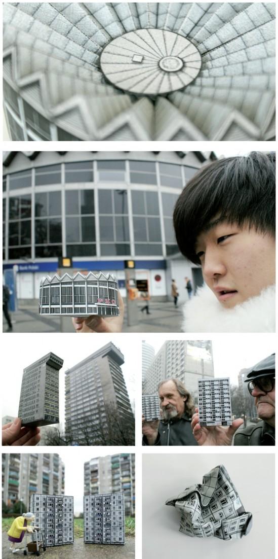 Warszawskie budynki na wycinankach! (ZDJĘCIA)