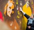 Przy Pięknej pojawił się nowy mural [GALERIA]