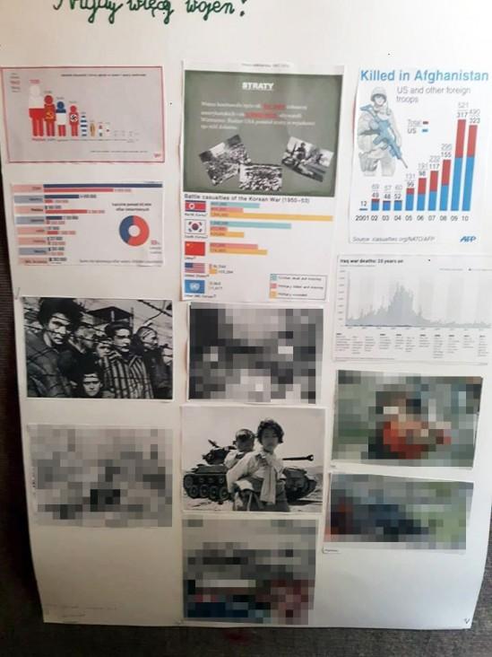 Fragmnet szkolnej gazetki z SP 23 w Grodzisku mazowieckim