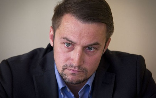 Piotr Guział. Fot. Andrzej Hulimka/WP.pl