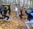 Boot Camp - trening żołnierzy amerykańskiej armii w parku Szczęśliwickim