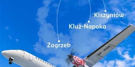 Eurolotem z Warszawy do Chorwacji, Mołdawii, Niemiec i Rumunii!